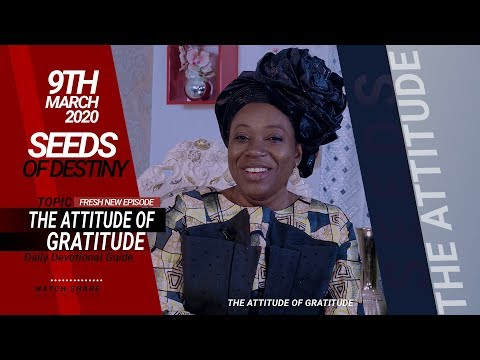 Dr Becky Paul-Enenche - SEEDS OF DESTINY - MONDAY, 09 MARCH, 2020