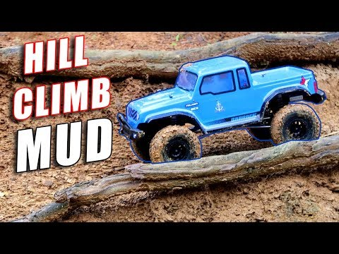 ECX Barrage Gen2 On THE HILL - So Muddy!! 4WD RC Truck - TheRcSaylors - UCYWhRC3xtD_acDIZdr53huA