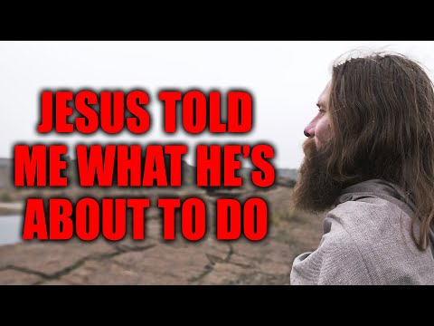 Jesus Told Me in 3 Words What He's About to Do