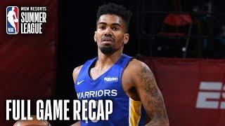 WARRIORS vs NUGGETS | Golden State Erases 4th Quarter Deficit | MGM Resorts NBA Summer League
