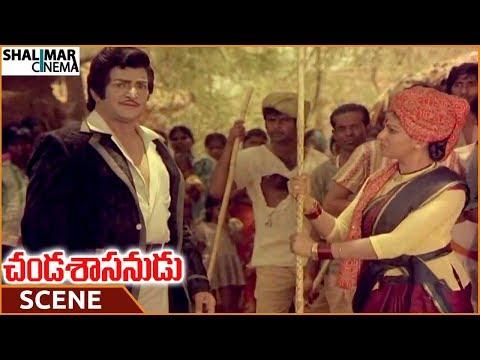 Chanda Sasanudu Movie || Sharada Informs To Solve Victim Problems || NTR, Radha || Shalimarcinema