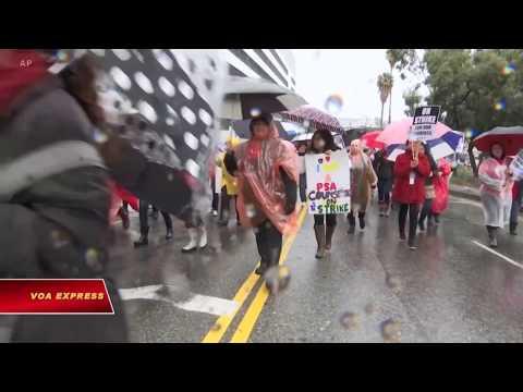 Los Angeles: Giáo viên tiếp tục đình công (VOA)