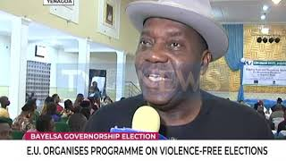 Bayelsa governorship Aspirants promise violence-free election