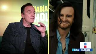 Yuriria Sierra entrevista a Quentin Tarantino por Había una vez... en Hollywood | COMPLETA