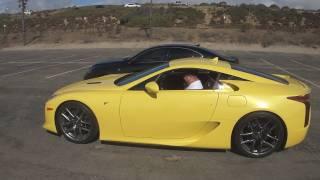 Rolling a Lexus LFA to El Segundo Beach