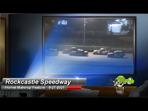 Rockcastle Speedway - Hornet Make-up Feature - 8/27/2021 - dirt track racing video image