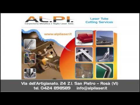 TAGLIO LASER TUBO AL.PI. SRL Taglio 3D  www.alpilaser.it