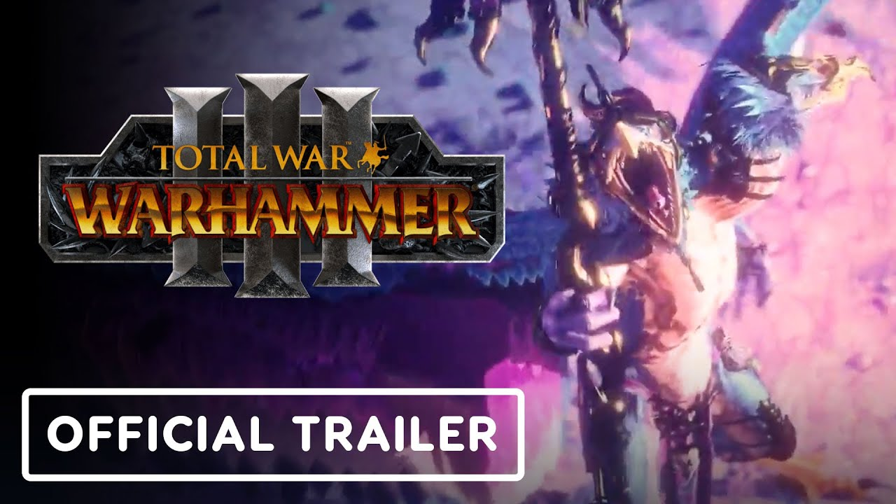 Total War: Warhammer 3 – Official Tzeentch  Trailer