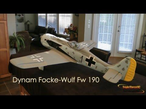 Dynam Focke-Wulf Fw 190 Unbox - SN Hobbies - UCvrwZrKFfn3fxbkpiSIW4UQ