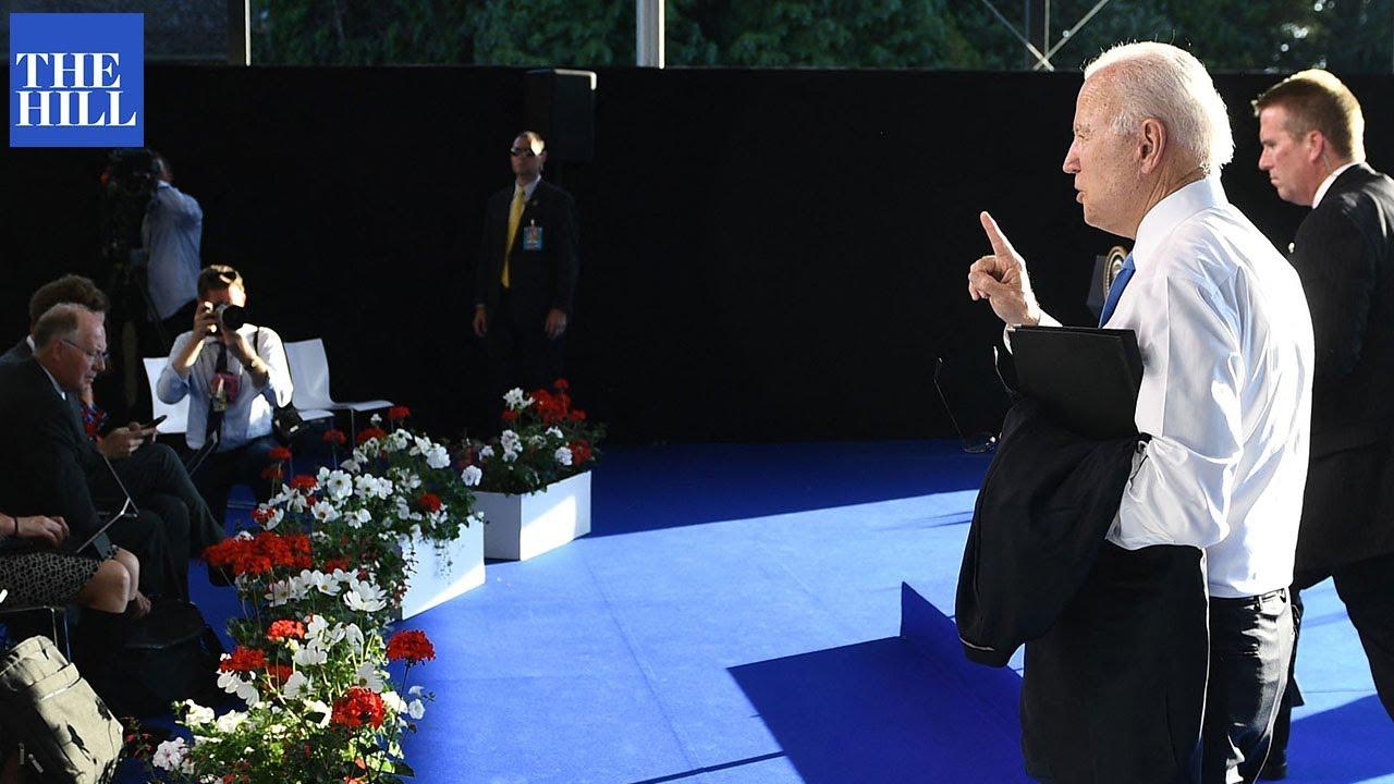 Biden SNAPS at CNN reporter for questioning 'confidence' Putin will change behavior