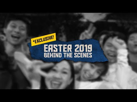 Easter 2019 Behind-the-Scenes