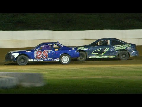 Mini Stock Feature | Freedom Motorsports Park | 9-11-21 - dirt track racing video image