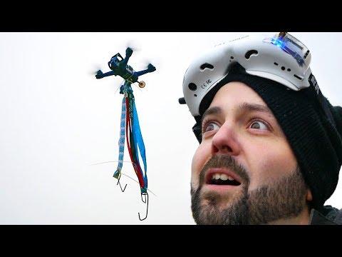DIY DRONE GRAPPLING HOOK?! - UCHxiKnzTyzE9Qez8ZGpQbPQ