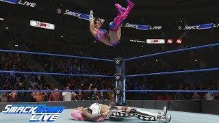 WWE 2K19 SMACKDOWN LIVE KAIRI SANE VS LIV MORGAN