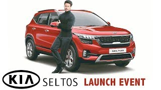 Tiger Shroff Launches Kia Seltos Compact SUV in Mumbai