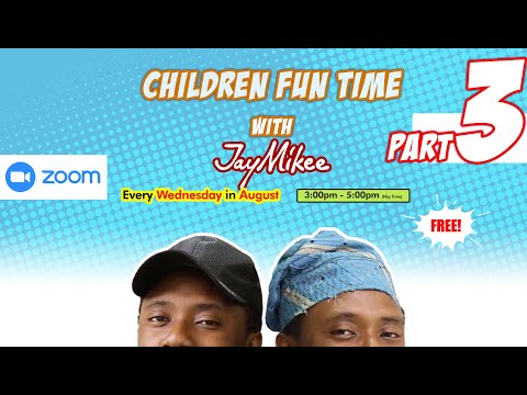 Children's Fun Time with Jaymikee part 3