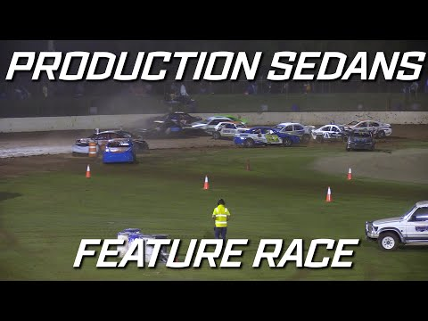 Production Sedans: Season Opener - A-Main - Kingaroy Speedway - 16.10.2021 - dirt track racing video image