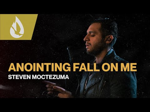 Anointing Fall on Me (by Ron Kenoly) with Lyrics  Acoustic Worship Cover by Steven Moctezuma
