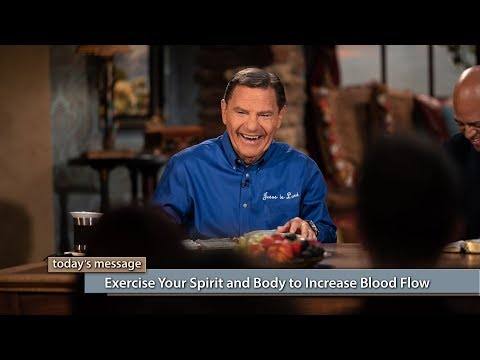 Exercise Your Spirit and Body to Increase Blood Flow