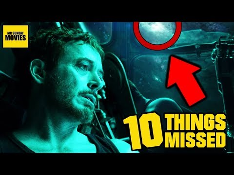 Avengers: Endgame Trailer - Easter Eggs & Things Missed - UCkDSAQ_5-yx5hmuvUcsJL7A