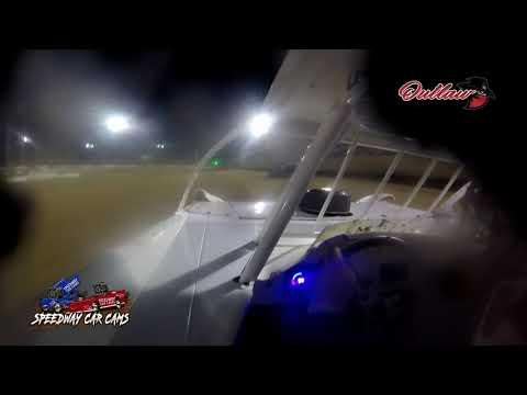 #28 Kylan Garner - Cash Money Late Model - 6-4-2021 Outlaw Motor Speedway - In Car Camera - dirt track racing video image