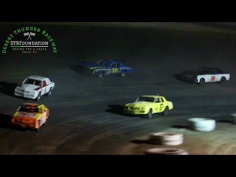Desert Thunder Raceway IMCA Hobby Stock Main Event 9/25/20 - dirt track racing video image