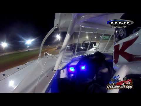 #28 Kylan Garner - Cash Money Late Model - 5-29-2021 Legit Speedway Park - In Car Camera - dirt track racing video image