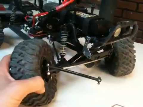 Demo's Axial SCX10 Honch to Wroncho Build Video Log # 3 - Hobby People Review - UCTa02ZJeR5PwNZK5Ls3EQGQ
