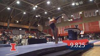 Illini Women's Gym | Nicole Biondi – vs. Denver