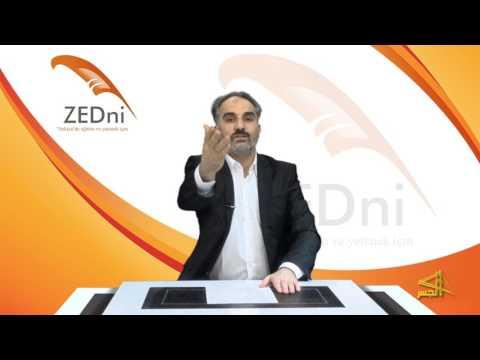 """سلسلة تعليم اللغة التركية مع الدكتور """"محمد زبدية """" الحلقة (3)"""