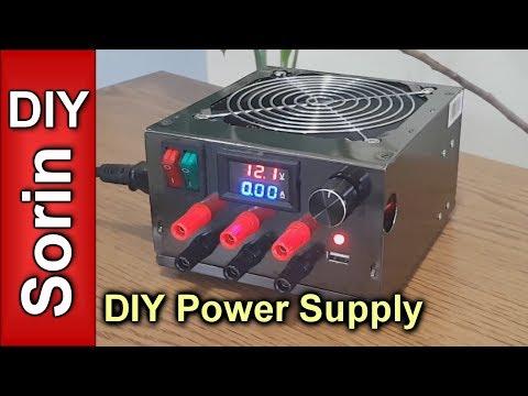 DIY - Lab Bench Power Supply - UCqLL06sAeFyE9Py28m7o21Q