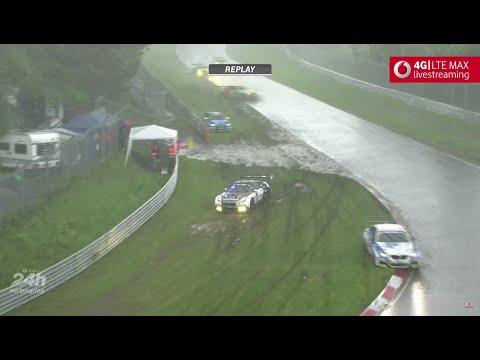 24H Nürburgring Nordschleife 2016 - Unwetter-Chaos | Regen & Hagel bis Rennabbruch - UCSOJoBNYaOaE4J3b_rtGGLQ