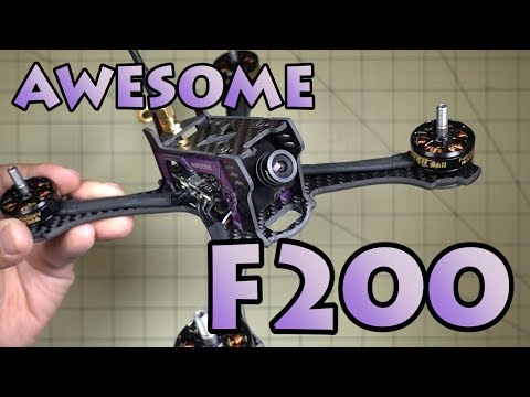 Awesome F200 Racing Drone Review - UCEJ2RSz-buW41OrH4MhmXMQ