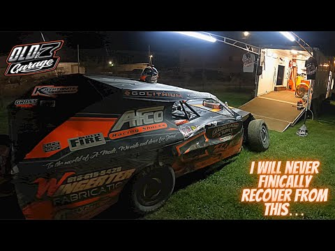 We tore it up bad! Is this the END??? The .38 Special at Charleston Speedway - DIRT TRACK RACING - dirt track racing video image