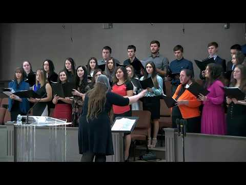 , youth choir at Church of Hope 10/20/2019