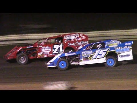 The Econo Mod Feature at Raceway 7 (Conneaut, OH) on Friday, October 4th, 2019! - dirt track racing video image