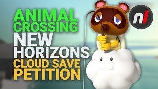 Fans Ask Nintendo to Allow Cloud Saves in Animal Crossing: New Horizons