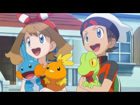 Pokemon Omega Ruby Version & Pokemon Alpha Sapphire Version - Animated Trailer - UCKy1dAqELo0zrOtPkf0eTMw