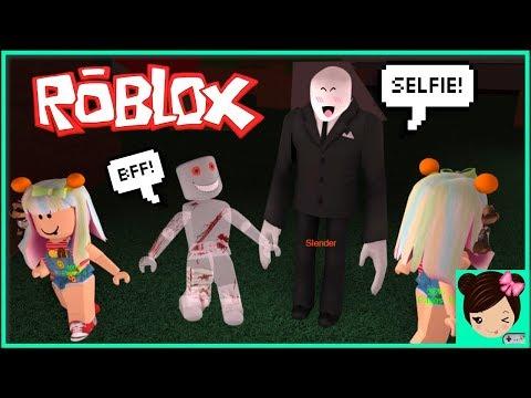 Youtube Escapando De Slender En Roblox Bromas En Juego De Terror