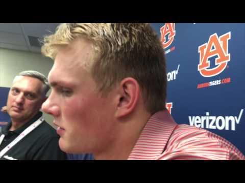 Kicker Daniel Carlson discuses his role in the LSU win.