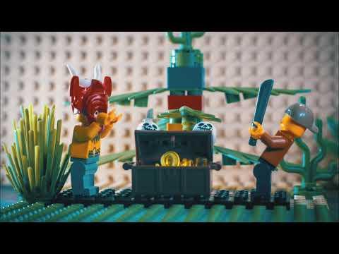 Vánoční LEGO mini příběh