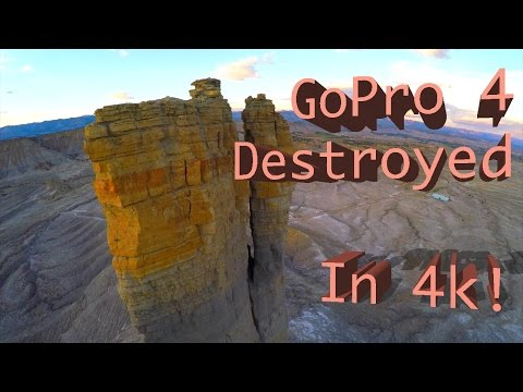 New GoPro 4 Black Destroyed...in 4k!