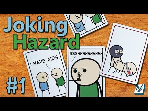 Most Offensive Party Game! || Joking Hazard || #1 (Cyanide and Happiness Game!) - UCVcQuy7m10vkH7rTA-q5Iuw