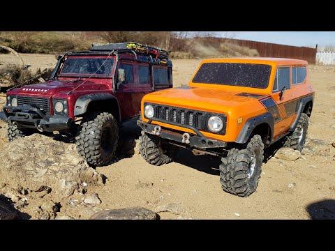 БИТВА ПОРТАЛОВ ... Land Rover TRX4 против Redcat GEN8 - UCX2-frpuBe3e99K7lDQxT7Q