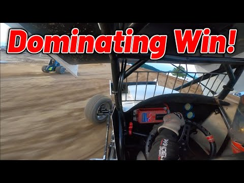 Tanner Holmes Dominating C Main Win At Attica Raceway Park! (Ohio Speedweek) - dirt track racing video image