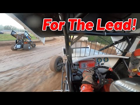 Tanner Holmes 13th to 1st Sprint Car A Main at Cottage Grove Speedway! - dirt track racing video image