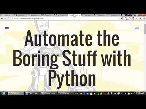 Automate the Boring Stuff with Python Programming - Learn Programming Languages