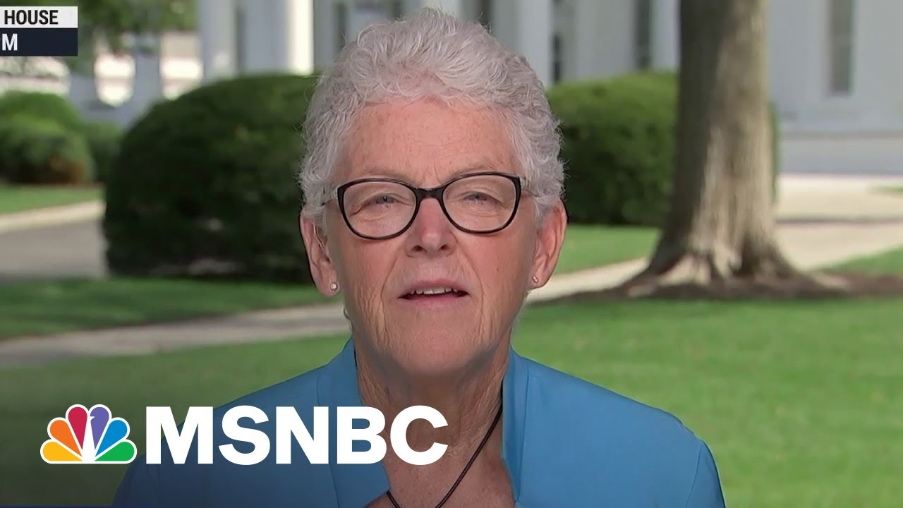 """'This Is A Code Red Situation"""": Gina McCarthy On Climate Change"""