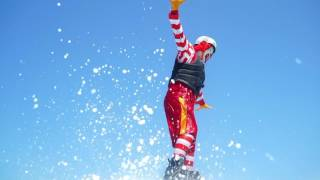 Ronald Mc Donald Flyboarding
