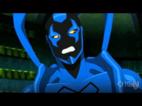 """Justice League vs. Teen Titans - """"Robin Fights Blue Beetle"""" Clip - UCKy1dAqELo0zrOtPkf0eTMw"""